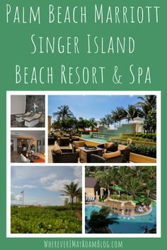The Ritzy Palm Beach Marriott Singer Island is a delightful luxury resort in West Palm Beach, Florida Great Places, Places To See, Travel Around The World, Around The Worlds, Stay Overnight, Marriott Hotels, West Palm Beach, Resort Spa, Beach Resorts
