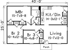 Plan 57056HA: L Shaped Kitchen Joined With Dining Area