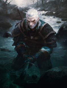Geralt by Michael Chang