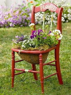 The Best 13 Ways To Repurpose Old Chair And Give a New Life - The ART in LIFE