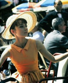 Audrey—perfectly dressed for summer.