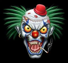 bad clown - Google Search