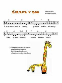 Kids Songs, Music Notes, Kids And Parenting, Crafts For Kids, Preschool, Children, Zoo, Piano, Sheet Music
