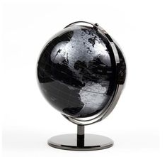 Led world globe tabletop globes map globo terrqueo globus black world globe stand modern design map desk table office world globes gumiabroncs Image collections