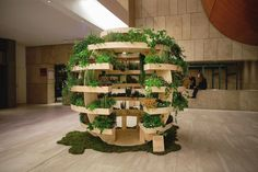 Ikea Lab Releases Free Designs For A Garden Sphere That Feeds A Neighborhood | The Huffington Post