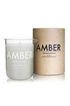 Laboratory Perfumes Amber Perfumed Candle