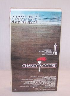 CHARIOTS OF FIRE - 1981- VHS Cassette Tape - Britain's 1924 Olympic Games - NEW