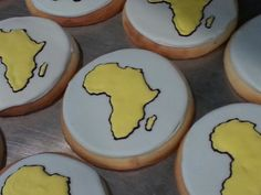 Continent cookies- Africa