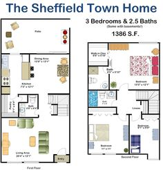 2 Bedroom 2 Bath Floor Plan Of Property Fisher Building City Apartments Fisher Building City