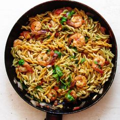 stir fry fussili and prawn 2