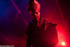 Into the eyes of fire... Papa Emeritus II / Ghost live at Big Day Out @ Metricon Stadium, Gold Coast 19/01/2014 | Metal Obsession