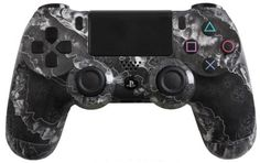 PlayStation 4 DualShock 4 Custom PS4 Controller with White Zombie Hazard Shell | eBay