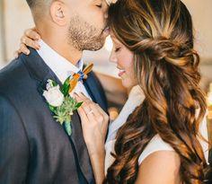 15 Penteados semi preso para noivas
