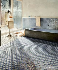 Hammam inspired bathroom