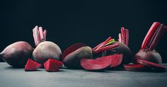 Which leads us to beets. Anything we can eat that bleeds as red and readily as the beet deserves our immediate respect.