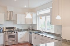 Beautiful Kitchen Design With Off White Ivory Shaker