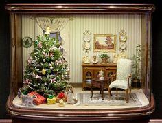 All about dollhouses and miniatures: Printables, miniaturen en inspiratie voor Kerstmis in het poppenhuis