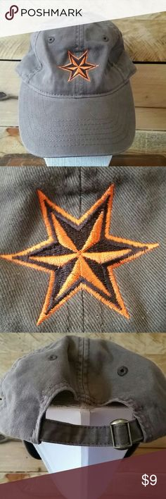NWOT Six Point Brewery (Brooklyn) baseball hat NWOT Six Point Brewery (Brooklyn) adjustable baseball hat in soft brown cotton with embroidered orange and brown six point star. Authentic Headwear Accessories Hats