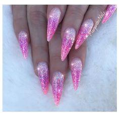 Pink glitter ombré almond nails #nails#pinknails#glitter#ombrenails#nailart #MargaritasNailz#glitternails #vetrogel#nailfashion#naildesign#nailswag#hairandnailfashion#nailedit#pink #nailprodigy#nailpromagazine #nailsofinstagram #nailaddict #nailstagram #nailsoftheday#nailporn#glitterombre #nailsmagazine#nailpro #nails2inspire #nailpromote#naildesigns#nailideas#summernails#nailsdone