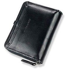 e8a31a6a920fa Echt Leder Kredit- und Visitenkartenetui Kartenetui Scheckkartenetui  Kartenmäppchen Kreditkartenmäppchen für Herren und Damen  Koffer