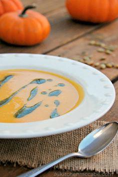 The Kitchen McCabe: Curried Coconut Pumpkin Bisque