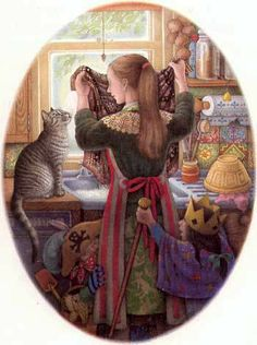 Nicola Bayley  The Patchwork Cat