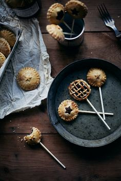 Nutella pie pops