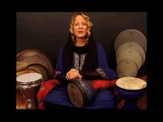 Rowan Storm ~ Introduction ~ Thinline Frame Drum ~ Partner Hand Symmetrical Method (1 of 4)