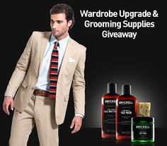Win a Wardrobe Upgrade and Year's Worth of Grooming Supplies Giveaway