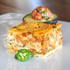 CHORIZO TORTILLA EGG BAKE (search within blog for this recipe, found easily)