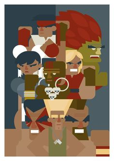 Hadouken byKnown as Unknown8.27″ X 11.69″ print, S/N edition of 25 Available HERE