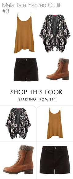 """""""Malia Tate Inspired Outfit #3"""" by thebanshee24 ❤ liked on Polyvore featuring WearAll, Charlotte Russe, tw and maliatate"""