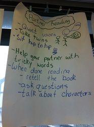 Partner Reading-Teachers College idea