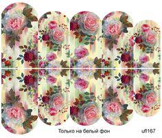 Слайдер-дизайн премиум, Цветы ufl167 - 1