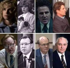 Chernobyl cast compared to actual people 🧐 👥 Jessie Buckley as Lyudmila Ignatenko 👥 Con O'Neill as Bryukhanov 👥 Jared Harris as Valery… Chernobyl Reactor, Reactor Nuclear, Chernobyl 1986, Chernobyl Disaster, Outside Movie, Jared Harris, Chernobyl Nuclear Power Plant, African American History, Mammals