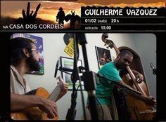 Guilherme Vazquez na Casa dos Cordéis. Participe!