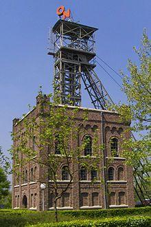 Industrial heritage, coalmine, Oranje Nassaumijn, Heerlen, the Netherlands