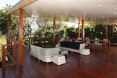 Timber and Wire Balustrade - WA Timber Decking