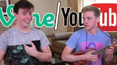 John Cozart and Thomas Sanders make a great team! (Or enemies, in this case) Thomas Sanders Vines, Jon Cozart, Fandoms Tumblr, Most Viral Videos, Instagram And Snapchat, Happy B Day, Videos Funny, Funny Songs, Dan And Phil