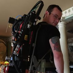 Who Ya Gonna Call For Your 3D Printed Ghostbusters' Proton Pack: Tom Lemieux! http://3dprint.com/37701/3dp-proton-pack-tom-lemieux/
