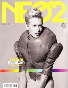 Takashi Murakami guest creative in last issue of Neo2 Magazine.