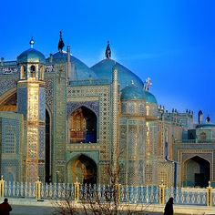 Blue Mosque, Mazar-e-Sharif, Afghanistan