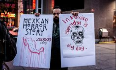 Photo - NeoMexicanismos #Dead #Mexico We Need You #MexicoNeedsYou