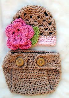 Sapatinhos Para Bebê - Life Baby: Tapa Fralda em Crochê