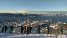Fløbanen Bergen Norway❄❄❄