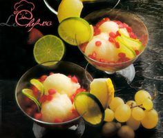 Sorbet de pepene galben Sorbet, Plum, Fruit, Food, Essen, Yemek, Meals