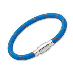 Climbing Rope, Paracord, Blue Orange, Unique, Bracelets, Image, Jewelry, Linen Fabric, Rope Climbing