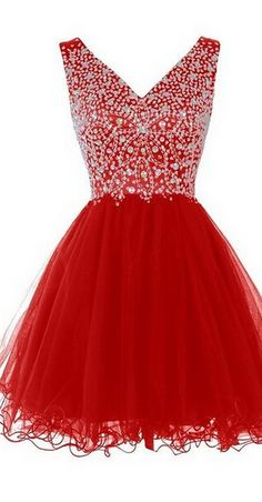#homecomingdresses #ShortPromDresses #tulleHomecomingDress…