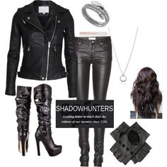 """""""Shadowhunter gear"""" by ilovejacelightwood on Polyvore"""