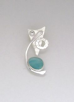 Sea Glass Jewelry Sterling Rare Victorian by SignetureLine, $75.00